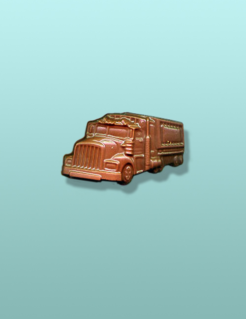 Chocolate Semi Truck Mini Favor