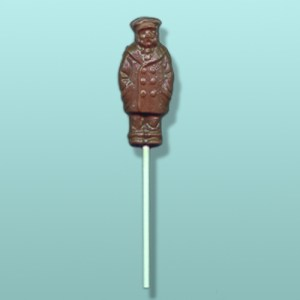 Chocolate Ship Captain Lolly