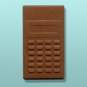 CHOCOLATE CALCULATOR FAVORS