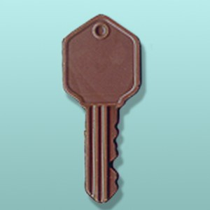 Chocolate Small Key Favor II