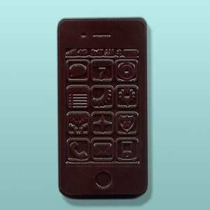 Chocolate Smart Phone Dark Party Favor