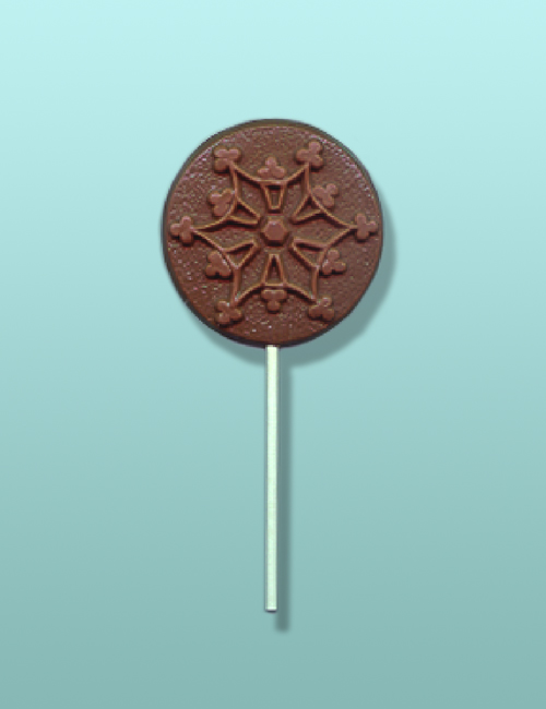 Chocolate Snowflake Lolly III