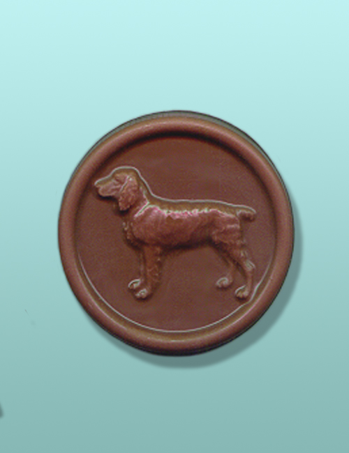 Chocolate Springer Spaniel Dog Medallion