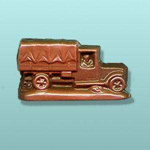 Chocolate Military Supply Truck