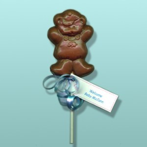 Chocolate Teddy Bear Boy Party Favor