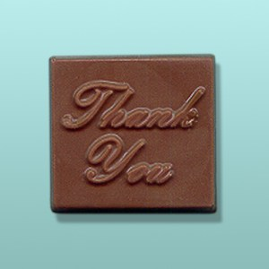 Thank You Chocolate Square Favor