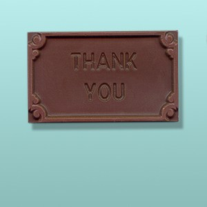 Thank You Chocolate Block Style Card