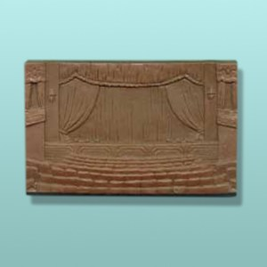 Chocolate Movie Theatre Stage Plaque