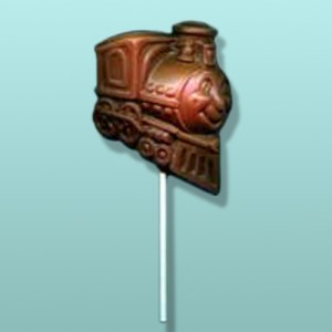 Chocolate Happy Train Engine Lolly