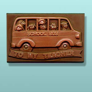 Chocolate To My Teacher Plaque