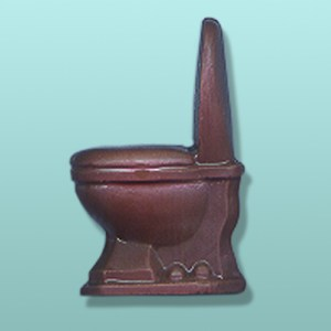 Chocolate Toilet Potty Favor
