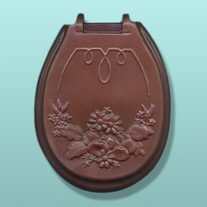 Chocolate Toilet Potty Seat Lid
