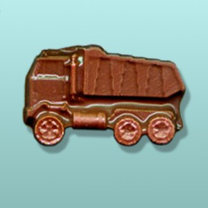 Chocolate Dump Truck Mini Favor