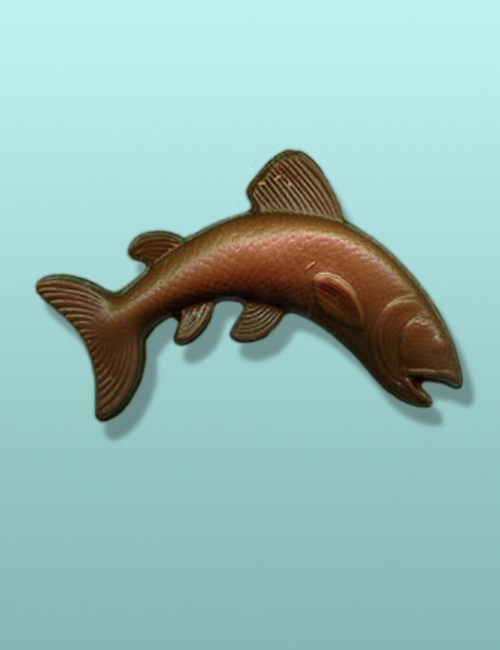 Chocolate Trout Party Favor