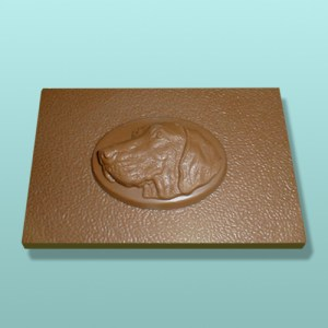 Chocolate Vizsla Dog Flat Plaque