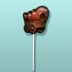 Chocolate Covered Wagon Lolly