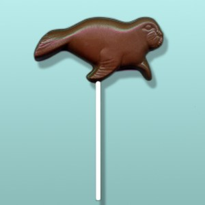Chocolate Walrus Lolly Favor