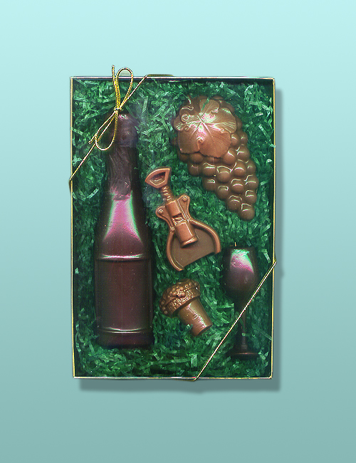 5 pc. Chocolate Wine Gift Set