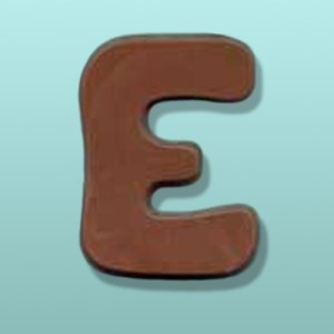 Chocolate Alphabet Letter #2 Party Favor