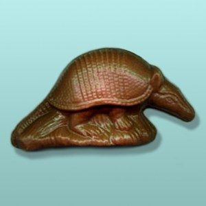 Chocolate Armadillo Party Favor