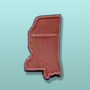 Chocolate Mississippi State Favor