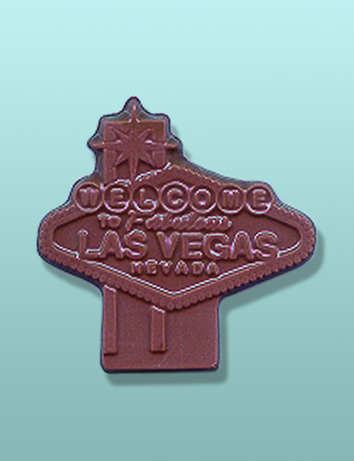 Chocolate Las Vegas Welcome Sign