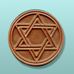 Star of David Chocolate Favor