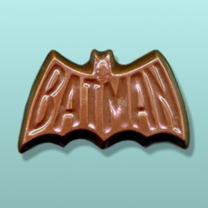Chocolate Batman Superhero Emblem Favor