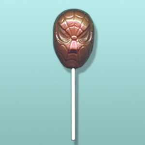 Chocolate Spider-Man Mask Lolly