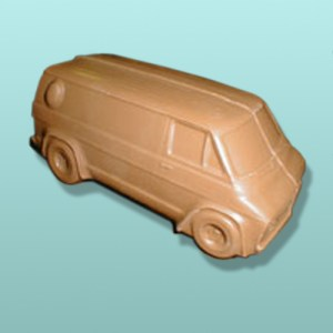 3D Chocolate Conversion Van