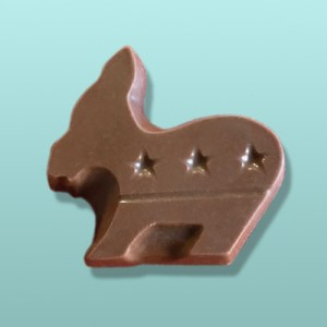 Chocolate Political Donkey II Party Favor