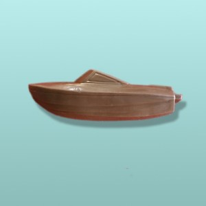 Chocolate Speed Boat Favor