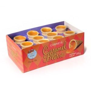 Cornets caramel