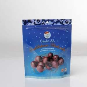 Bleuets séchés enrobés de chocolat noir