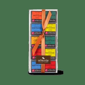 carrées chocolat-chocolat_de neuville_chocolats_noirs_lait