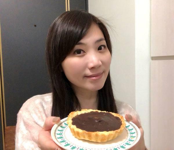 【部落客巧巧吃】4吋大小剛好,一不小心就吃光的巧克力塔