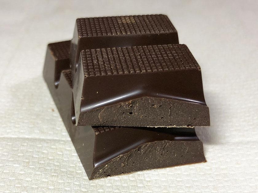 チョコの塊感あり