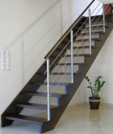 Drewniane Schody policzkowe [www.perfectschody.com]