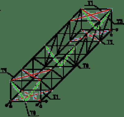 Płaskie dźwigary kratowe w układzie bikonstrukcyjnym