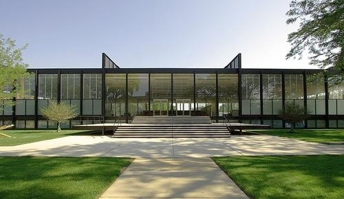 Crown Hall (architekt: Mies van der Rohe)