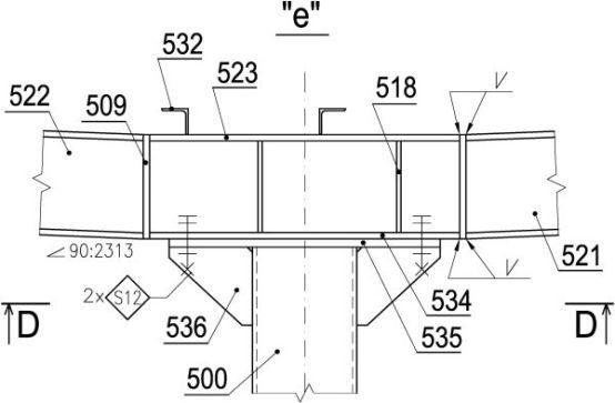 Rys.7 Szczegól rysunkowy. Sposób oznaczania pozycji oraz śrub