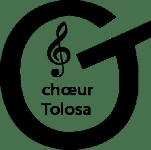 logo noir choeur tolosa