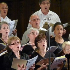 Sopranos, altos et basses en concert, 2014