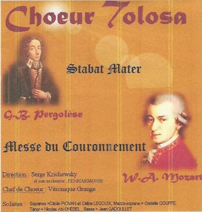 Album Messe du Couronnement Choeur Tolosa