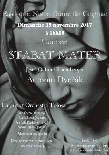 Concert de ceignac novembre 2017
