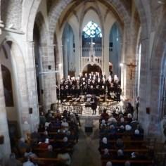 Concert, Basilique Notre Dame de Ceignac, novembre 2017
