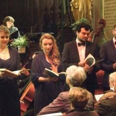 Quartet de solistes, Stabat Mater de Dvorak, décembre 2017