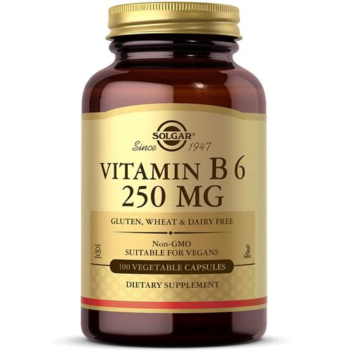 미국 직구 식물성 솔가 캡슐 비타민 B6