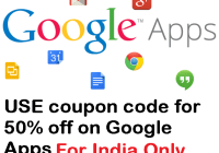 google apps coupon India