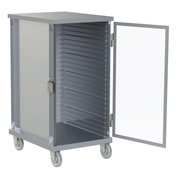 24 Pan Capacity with Clear Door